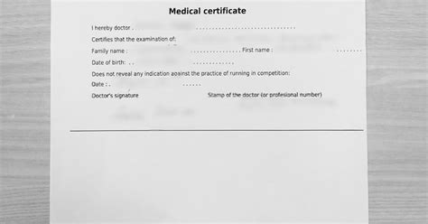 100 mountains: Medical Certificate for CCC (UTMB)
