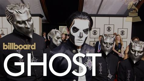 Ghost: The 2016 GRAMMY red carpet | Billboard - YouTube