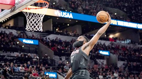Rockets likely to protest call on blown James Harden dunk